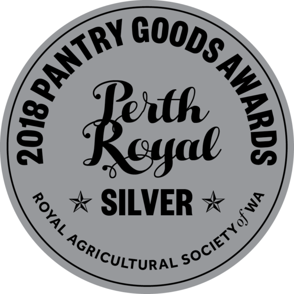 Perth Royal Pantry Awards - Silver Medal Latasha's Kitchen
