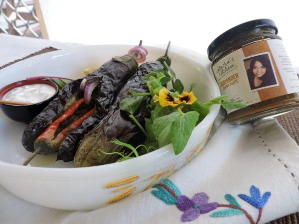 Latasha's Kitchen Eggplant Kasundi