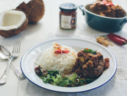 Slow Cooked Rendang Osso Buco