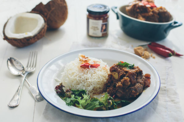 Slow Cooked Rendang Osso Buco by Latasha's Kitchen