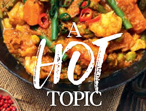Sophie Hull from EatWell Magazine discusses the love and benefits of curry with Latasha & co.