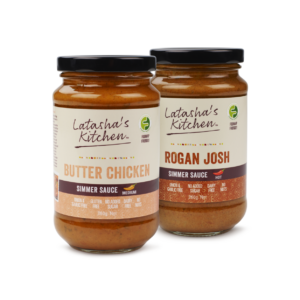 Twin Pack Low FODMAP Simmer Sauces