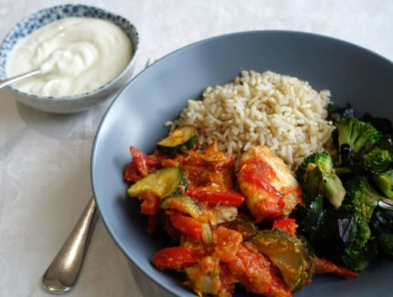 Low FODMAP Spicy Fish Curry