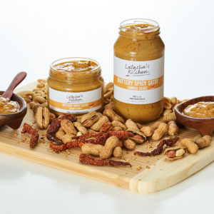 New Buttery Spicy Satay Sauce with Peanuts