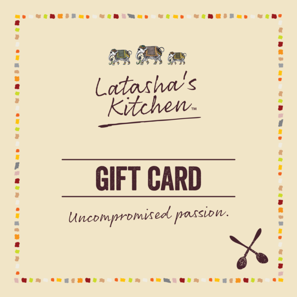 Gift Card Latasha's Kitchen