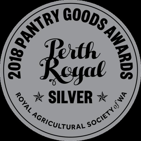 Perth Royal Pantry Awards - Silver Medal Latasha's Kitchen