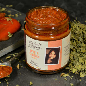 Use Latasha's Butter Chicken to make flavoursome meals without much salt