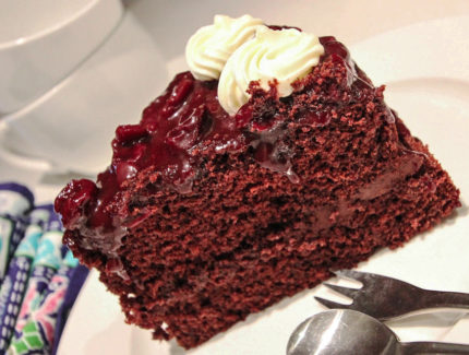 CHERRY CHOCOLATE BLACK FOREST CAKE