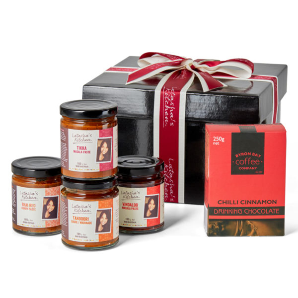 Red Hot Favourites Hamper from Latasha's Kitchen