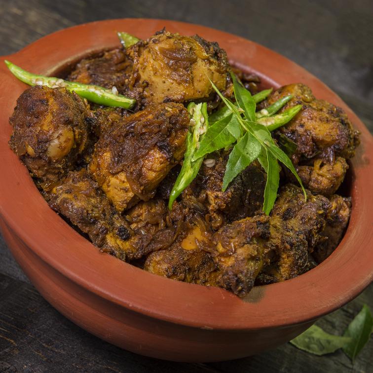 Chilli Chicken Masala Peratal made easy with Latasha's Madras Paste and Garam Masala