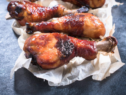 Caramelised Spiced Chicken Drumsticks