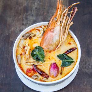 Thai Chicken and Prawn Laksa by Latasha's Kitchen