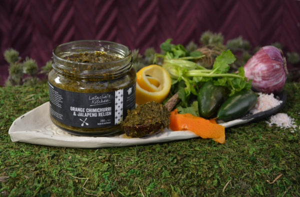 Latasha's Kitchen Orange Chimichurri Relish