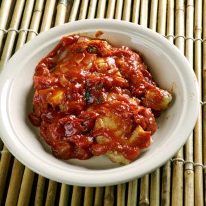 Nigerian Red Tomato Chicken Stew by Latasha's Kitchen