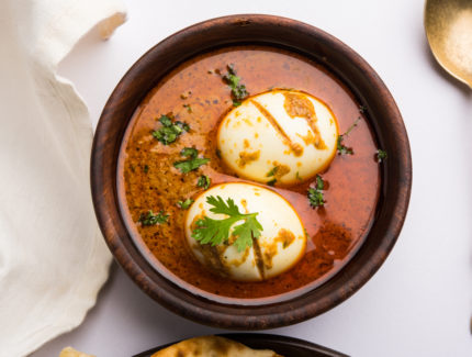 Coriander Egg Curry