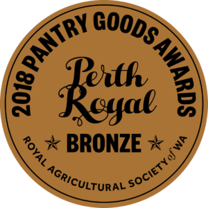 Perth Royal Pantry Awards Bronze Winner - Latasha's Kitchen