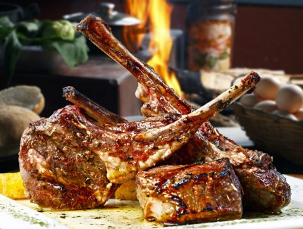 BBQ LAMB CHOPS WITH CHILLI