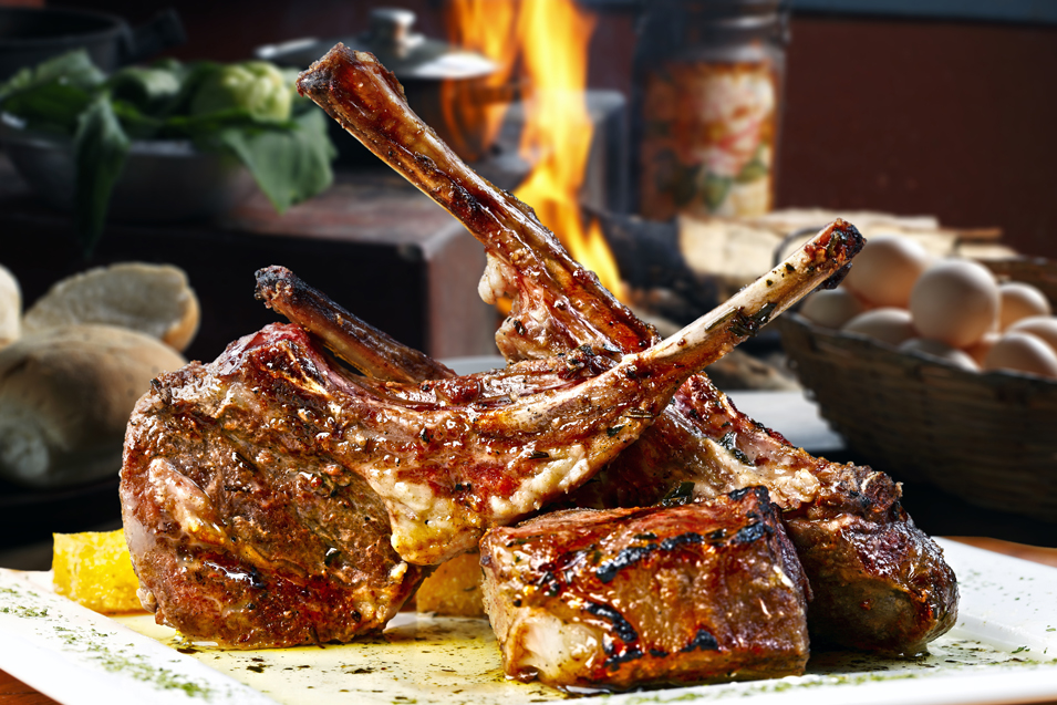 BBQ Lamb Chops with Chilli