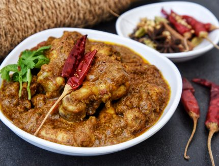 Chettinad Black Pepper Chicken Masala