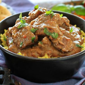Slow Cooker Lamb Korma