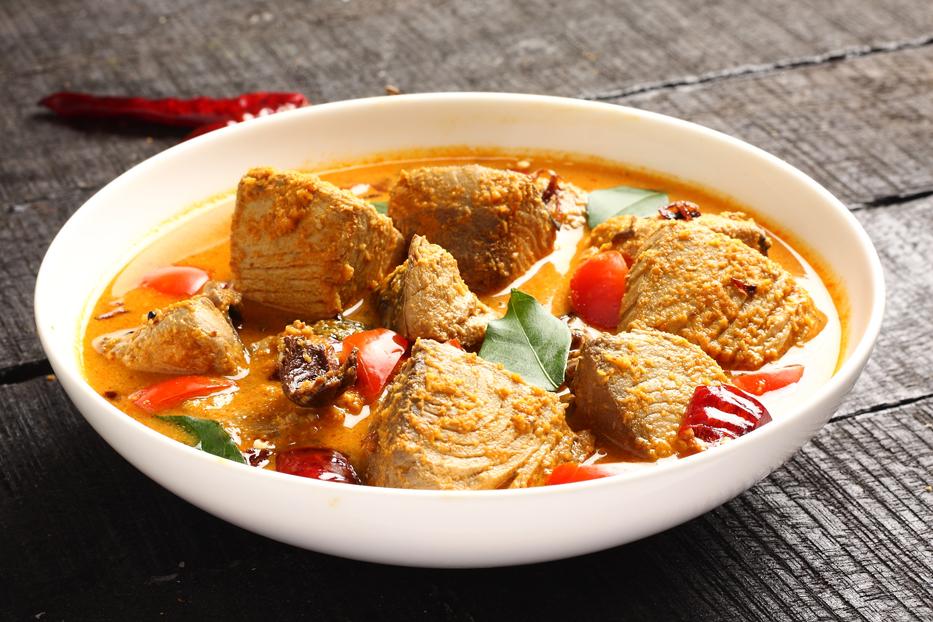 coriander fish curry