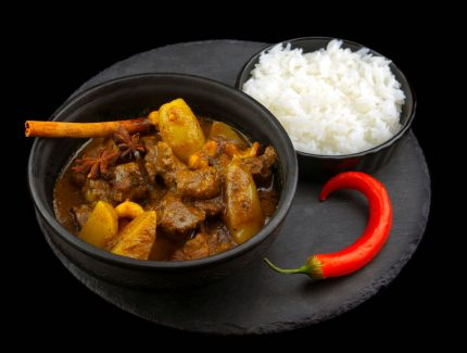 Massaman Beef Sausage Curry