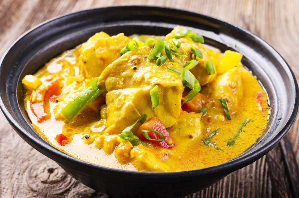 Turmeric Snapper Curry