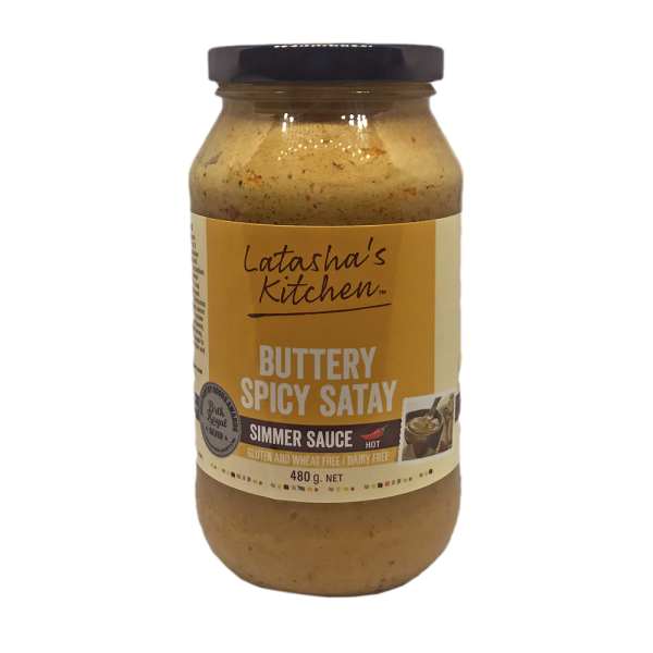Buttery Spicy Satay Simmer Sauce