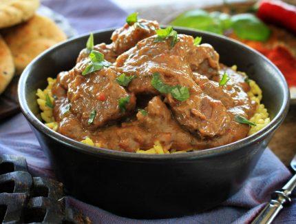 Takali (Tomato) Beef Madras Stew