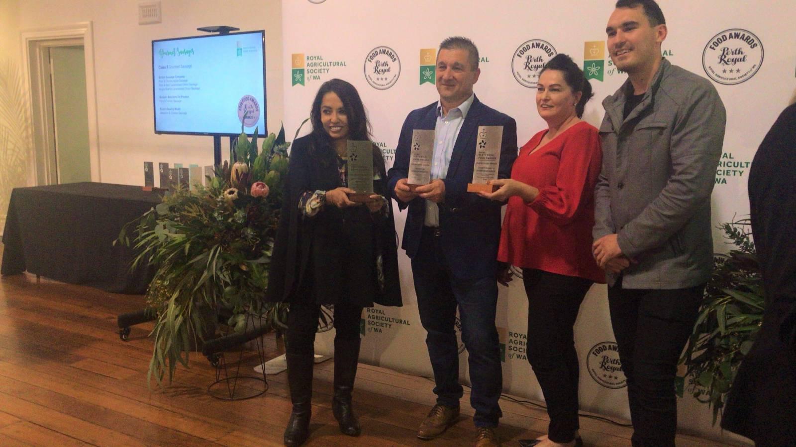 2019 Perth Royal Food Awards