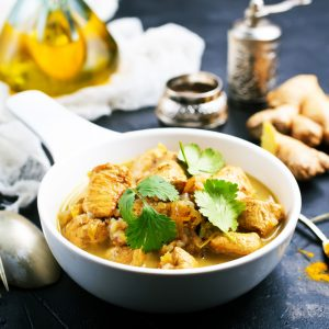 Lime and Mint Chicken Curry