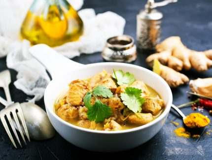 Coriander, Lime and Mint Chicken Curry