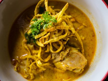 Madras Curry Chicken Noodle Soup