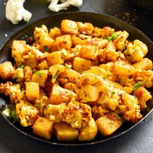 Tandoori Potatoes & Cauliflower