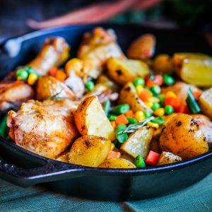 Spicy One Pot Chicken & Veggies