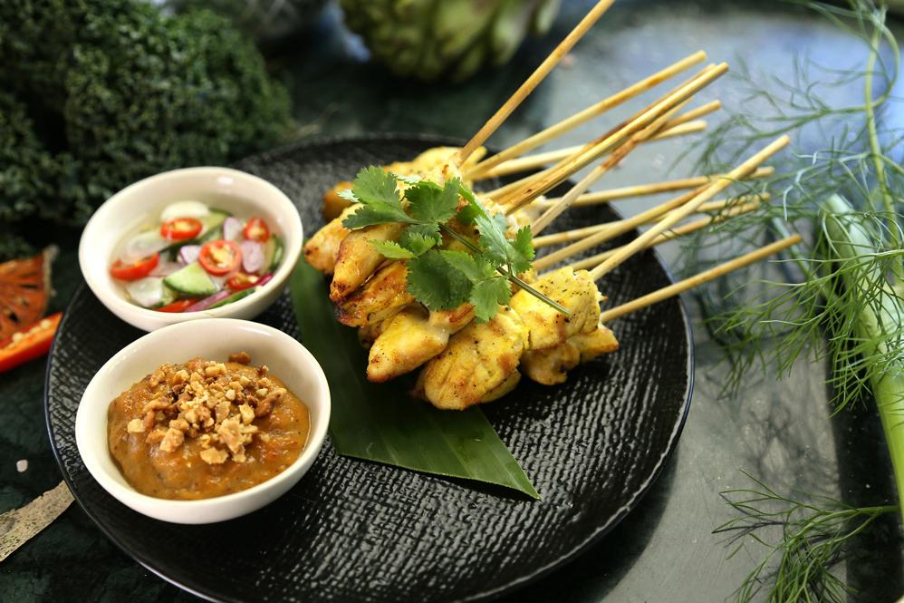 Malaysian Satay Chicken Marinade
