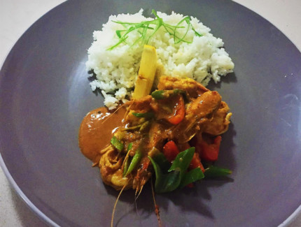 Fijian Seafood Curry