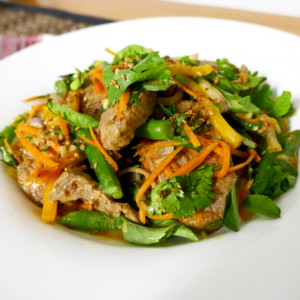 Salad of Lamb with Thai Flavours