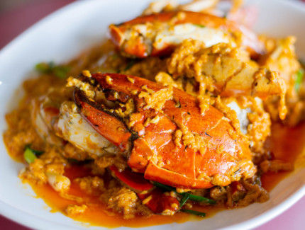 Fijian crab curry