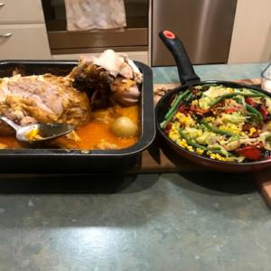Super Tasty Roasted Satay Chicken