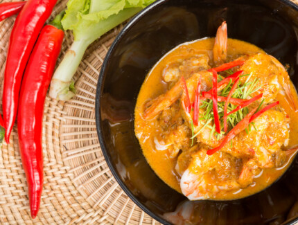 Indo-Malayan Prawn Lemak Curry