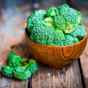 Golden Broccoli Turmeric Bake