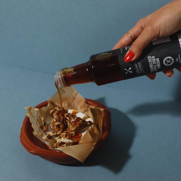 Sweet/Savoury with Caramelised Apple Cider