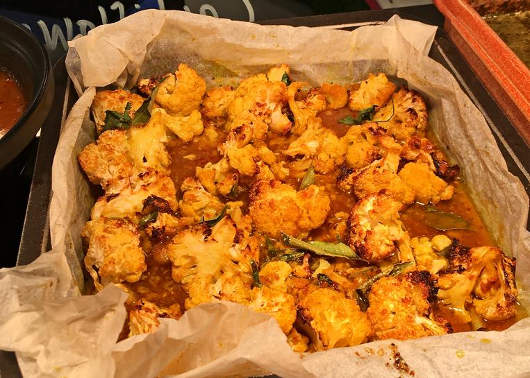 Magical cauliflower roast